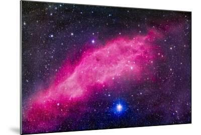 The California Nebula-Stocktrek Images-Mounted Photographic Print