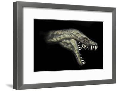 Hydrotherosaurus Portrait-Stocktrek Images-Framed Art Print