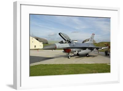 U.S. Air Forces Europe F-16Cj Block 50 at Spangdahlem Air Base, Germany-Stocktrek Images-Framed Photographic Print