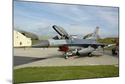 U.S. Air Forces Europe F-16Cj Block 50 at Spangdahlem Air Base, Germany-Stocktrek Images-Mounted Photographic Print