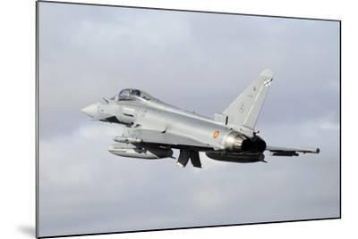 Spanish Air Force Eurofighter Ef2000 Typhoon Taking Off-Stocktrek Images-Mounted Photographic Print