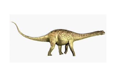 Uberabatitan Sauropod Dinosaur from the Cretaceous Period-Stocktrek Images-Framed Art Print
