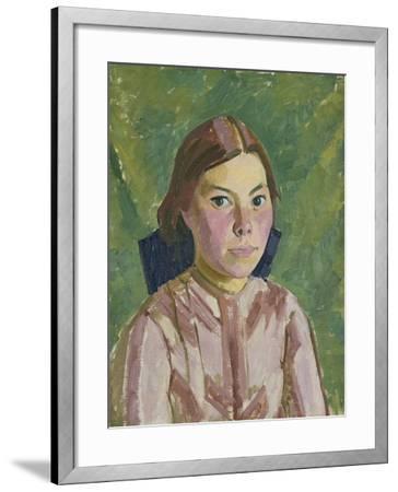 Head of an Irish Girl-Henry Lamb-Framed Giclee Print