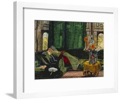 The Siesta-John Frederick Lewis-Framed Giclee Print