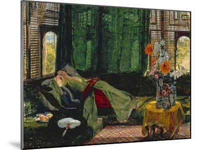 The Siesta-John Frederick Lewis-Mounted Giclee Print