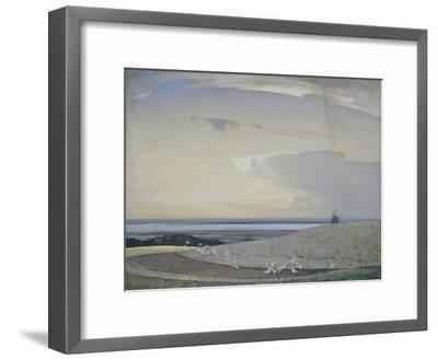The Line of the Plough-Sir Arnesby Brown-Framed Giclee Print