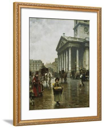 St Martin-In-The-Fields-William Logsdail-Framed Giclee Print