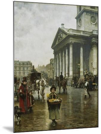 St Martin-In-The-Fields-William Logsdail-Mounted Giclee Print