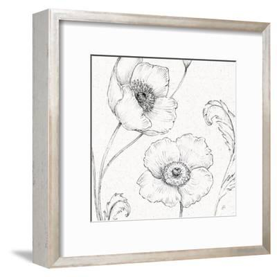 Blossom Sketches I-Daphne Brissonnet-Framed Art Print
