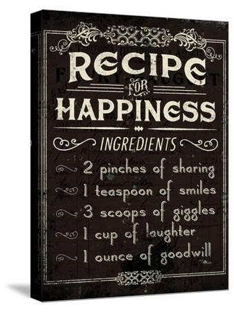 Life Recipes IV-Jess Aiken-Stretched Canvas Print