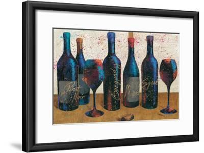 Wine Splash Light I-Jim Wellington-Framed Premium Giclee Print
