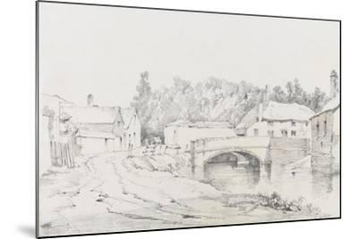 Engine Bridge, Exeter, C.1831-Henry Courtney Selous-Mounted Giclee Print