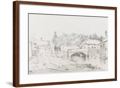 Engine Bridge, Exeter, C.1831-Henry Courtney Selous-Framed Giclee Print