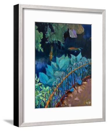 Koi and Hostas-Marco Cazzulini-Framed Giclee Print