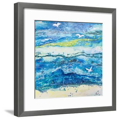 Dancing with the Waves-Margaret Coxall-Framed Giclee Print