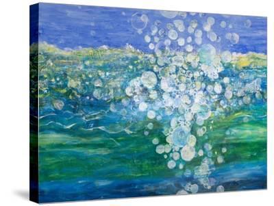 Big Bubble, 2015-Margaret Coxall-Stretched Canvas Print