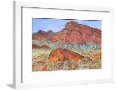 Red Mountain-Margaret Coxall-Framed Giclee Print