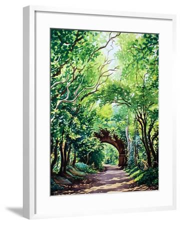 Sudbury Bridge and Trees-Christopher Ryland-Framed Giclee Print