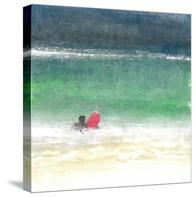 Surfing 2, Sri Lanka, 2015-Lincoln Seligman-Stretched Canvas Print