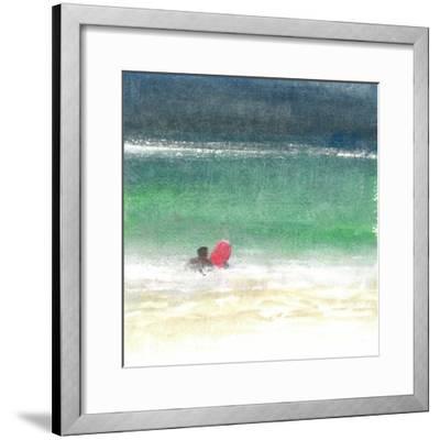 Surfing 2, Sri Lanka, 2015-Lincoln Seligman-Framed Giclee Print