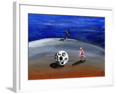 I Found a Great Big Football, 2005-Gigi Sudbury-Framed Giclee Print