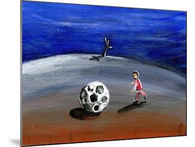 I Found a Great Big Football, 2005-Gigi Sudbury-Mounted Giclee Print