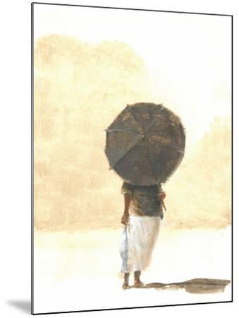 Umbrella and Fish 2, 2015-Lincoln Seligman-Mounted Giclee Print