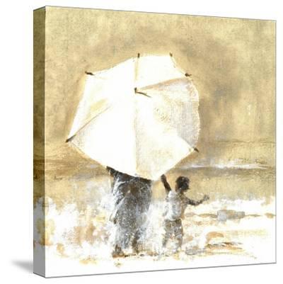 Umbrella and Child 2, 2015-Lincoln Seligman-Stretched Canvas Print