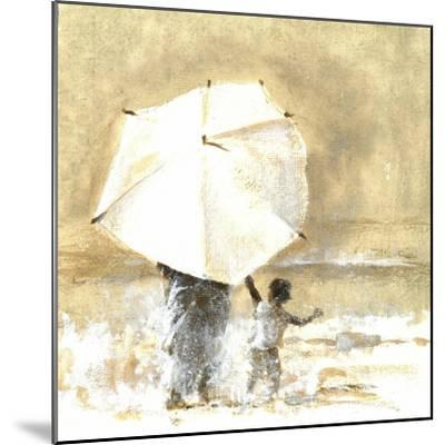 Umbrella and Child 2, 2015-Lincoln Seligman-Mounted Giclee Print