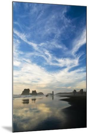 USA, Oregon, Bandon Beach. Sea Stacks at Twilight-Jaynes Gallery-Mounted Photographic Print