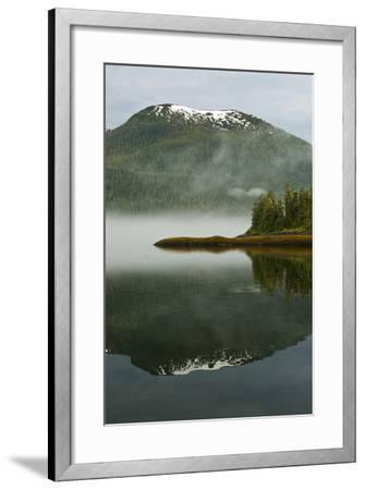 USA, Alaska. Morning Fog on Lake-Jaynes Gallery-Framed Photographic Print