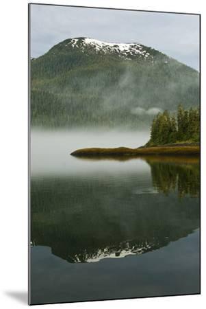 USA, Alaska. Morning Fog on Lake-Jaynes Gallery-Mounted Photographic Print