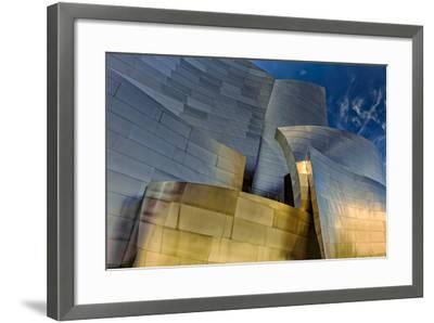 Los Angeles, California. the Disney Concert Hall Exterior-Rona Schwarz-Framed Photographic Print