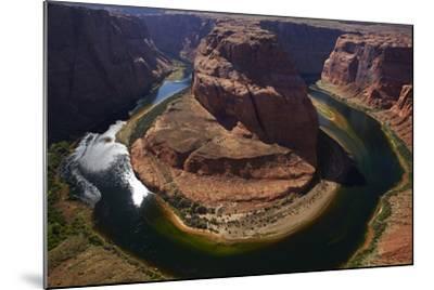 Horseshoe Bend, 1000 Ft. Drop to Colorado River-David Wall-Mounted Photographic Print