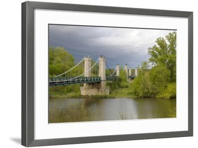 France, Centre, Chatillon Sur Loire. Pont De Chatillon Sur Loire-Kevin Oke-Framed Photographic Print