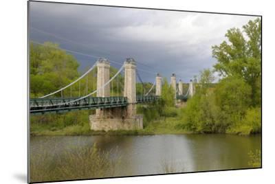 France, Centre, Chatillon Sur Loire. Pont De Chatillon Sur Loire-Kevin Oke-Mounted Photographic Print