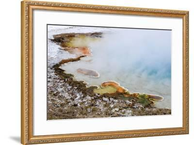 USA, Wyoming, Yellowstone National Park. Silex Spring Pool-Jaynes Gallery-Framed Photographic Print