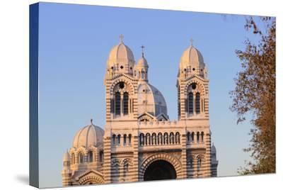 France, Bouches Du Rhone, Marseille. Nouvelle Cathedrale De La Major-Kevin Oke-Stretched Canvas Print