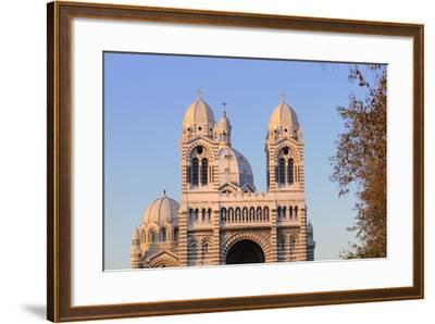 France, Bouches Du Rhone, Marseille. Nouvelle Cathedrale De La Major-Kevin Oke-Framed Photographic Print