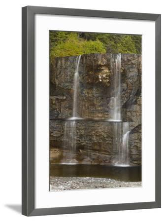 Canada, Pacific Rim National Park Reserve, West Coast Trail, Tsusiat Falls-Jamie And Judy Wild-Framed Photographic Print