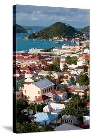 Charlotte Amalie, St. Thomas, U.S. Virgin Islands-Susan Degginger-Stretched Canvas Print