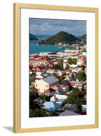 Charlotte Amalie, St. Thomas, U.S. Virgin Islands-Susan Degginger-Framed Photographic Print