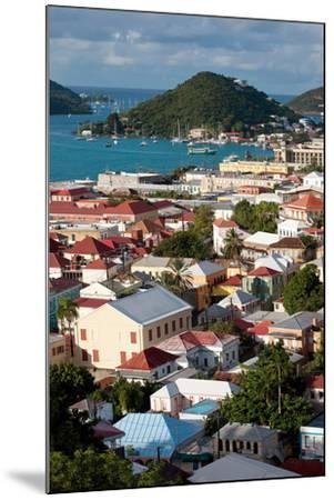 Charlotte Amalie, St. Thomas, U.S. Virgin Islands-Susan Degginger-Mounted Photographic Print