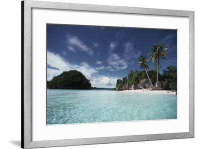 Palau, Honeymoon Island, Rock Islands-Stuart Westmorland-Framed Photographic Print