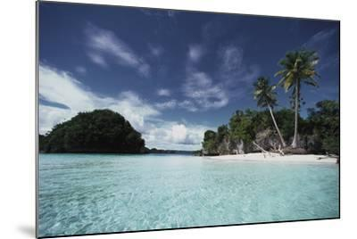 Palau, Honeymoon Island, Rock Islands-Stuart Westmorland-Mounted Photographic Print
