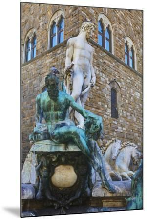 Statues in the Palazzo Vecchio-Terry Eggers-Mounted Photographic Print