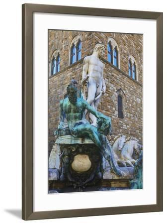 Statues in the Palazzo Vecchio-Terry Eggers-Framed Photographic Print