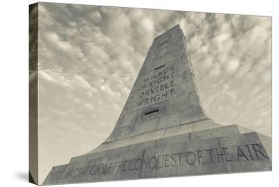 North Carolina, Kill Devil Hills, Wright Brothers National Memorial-Walter Bibikow-Stretched Canvas Print
