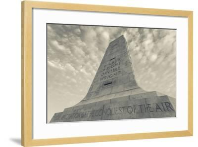 North Carolina, Kill Devil Hills, Wright Brothers National Memorial-Walter Bibikow-Framed Photographic Print