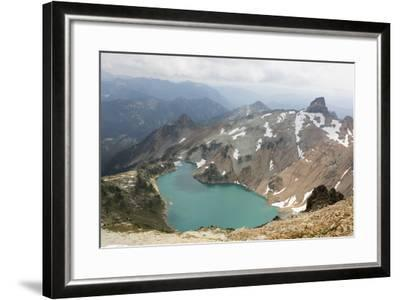 Wa, Alpine Lakes Wilderness, Circle Lake, View from Mount Daniel-Jamie And Judy Wild-Framed Photographic Print